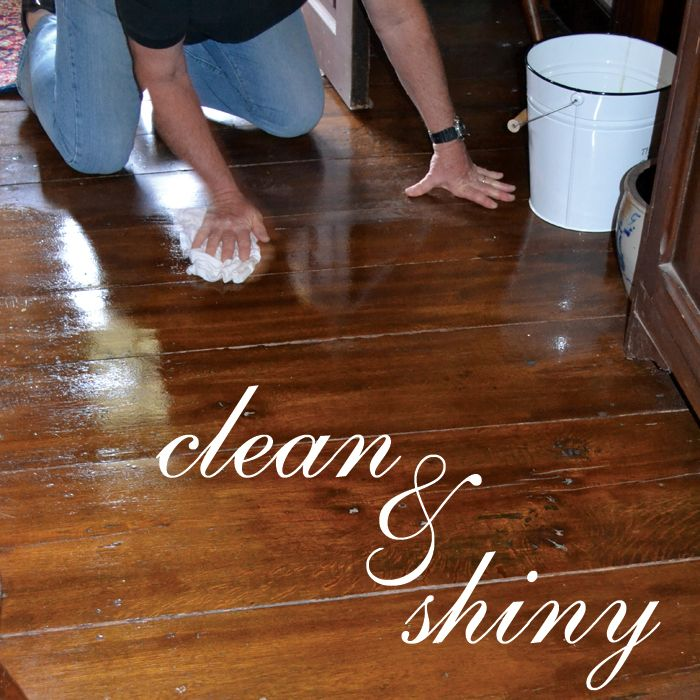 What Is The Best Thing To Clean Hardwood Floors Part - 44: Mister Wieber Cleans Hardwood Floors CLEAN U0026 SHINY