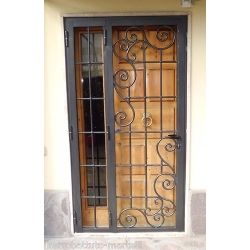 Wrought Iron Gate Door. Customize Realizations. 557