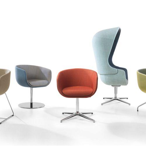 Nu er en innovativ stol skabt til ethvert rum hvor der ønskes en indbydende og…