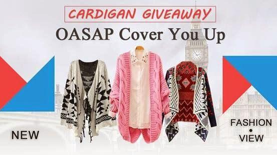 Ef Zin Creations: Giveaway OASAP Cardigan {Sponsor love}