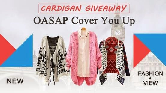 Giveaway OASAP Cardigan {Sponsor love}