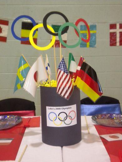 "Photo 7 of 20: Olympics / Birthday ""Olympics party"" | Catch My Party"
