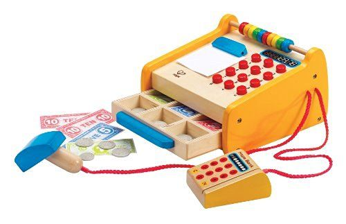 Hape - Playfully Delicious - Checkout Register Wooden Play Set…
