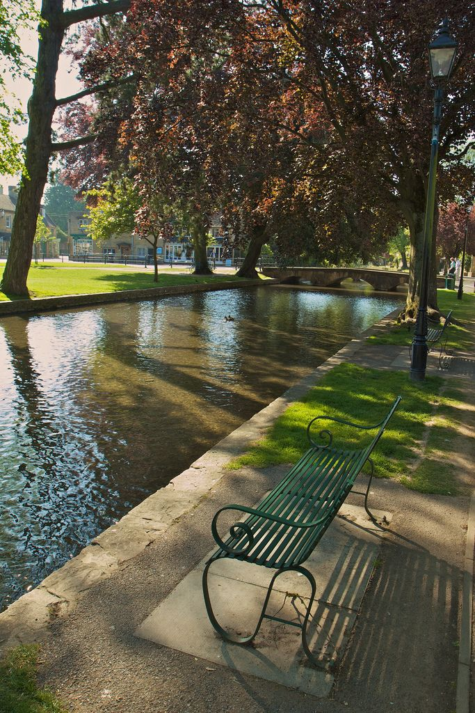 Bourton-on-the-water, The Cotswolds - Gloucestershire, ~ great place to sit and soak in the village life. I need to go back and visit...