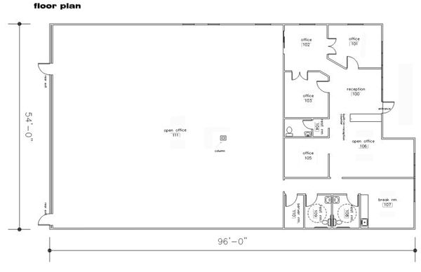 Image Result For Office Warehouse Floor Plans