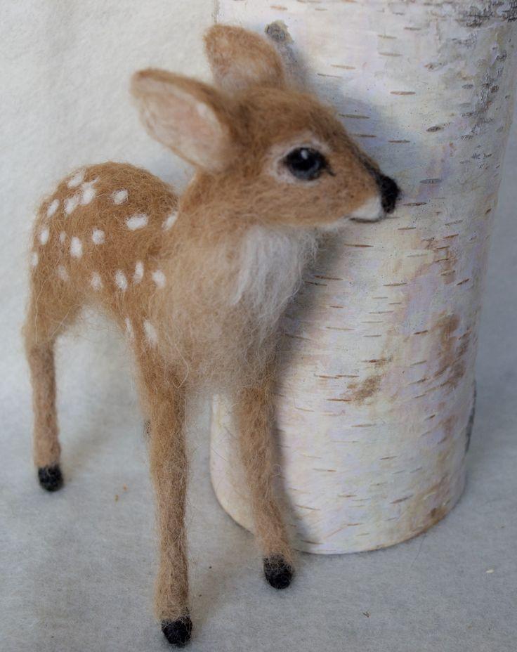 Deer fawn by Claudia Marie Felt