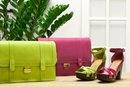 Bags and shoes/ Bolsos y zapatos Stradivarius  Pistacho y fucsia