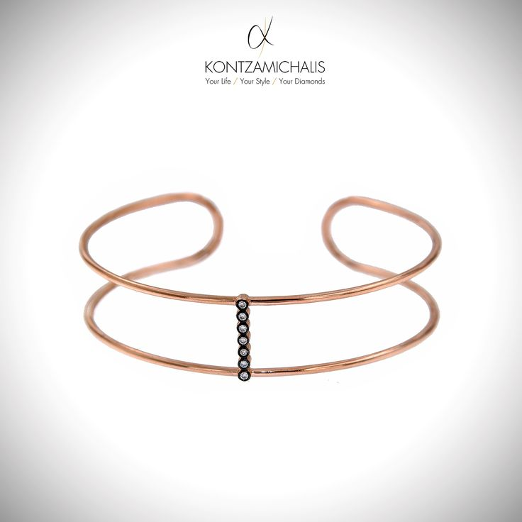 There is always enough space for one more shinny bangle. #KontzamichalisJewellery