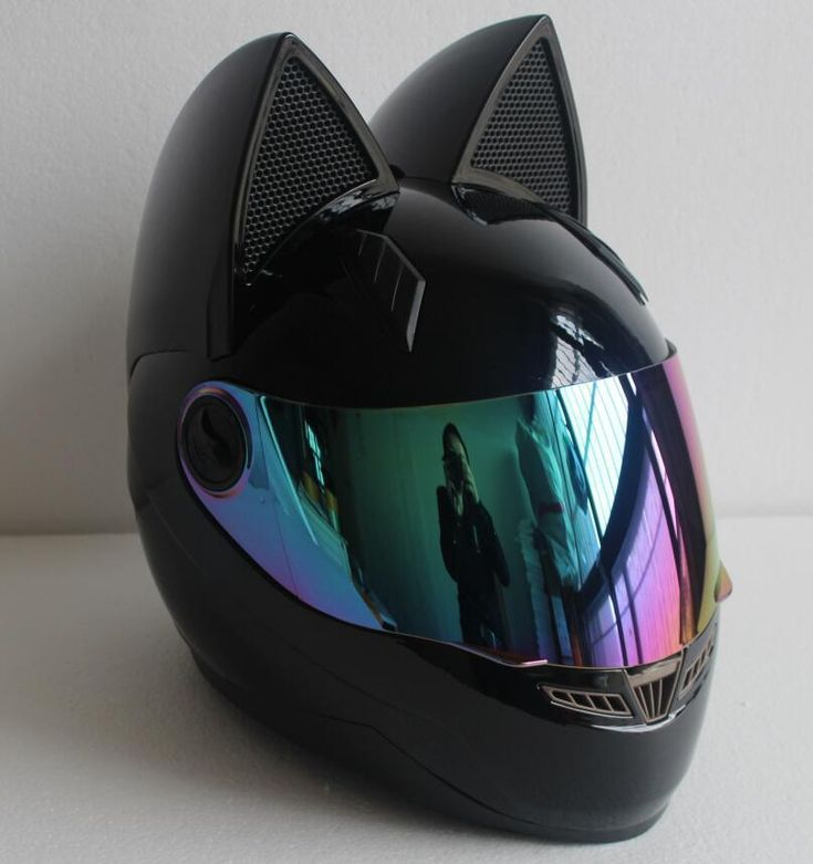 Full Face Bike Cat Ear Helmet