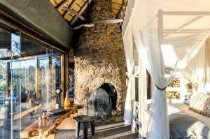 Singita Boulders Lodge, Bedroom, South Africa
