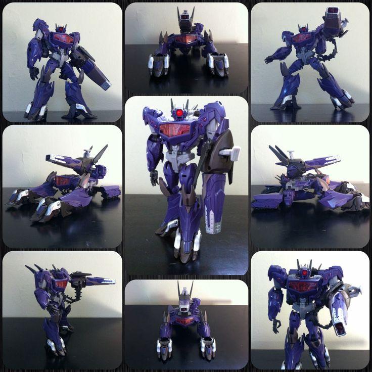 Transformers Prime Beast Hunters Decepticon SHOCKWAVE (One ...