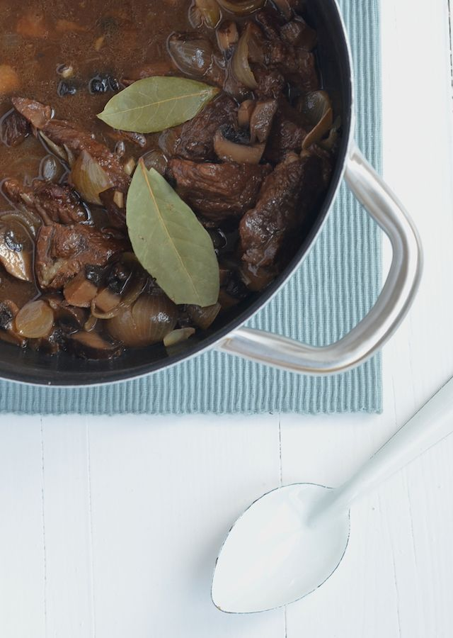 Een super lekker recept voor een stoofpotje van rundvlees met balsamico-azijn. Uit Paulines keuken