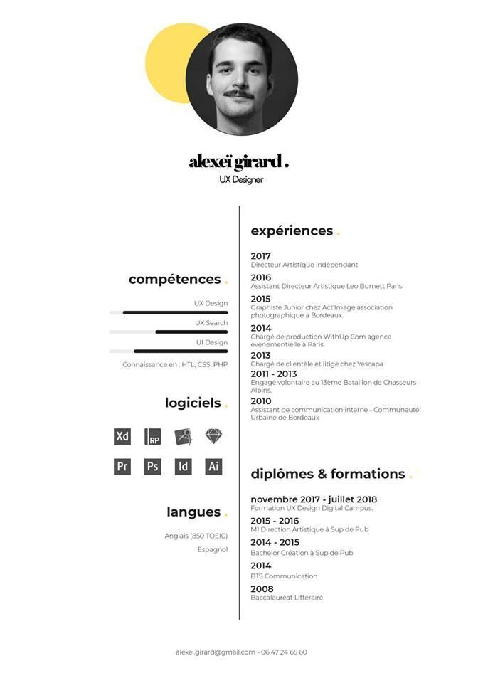 Dead End Resume Template Ideas Of Resume Template Resumetemplate Resume Template Ideas Of Resume Template Resumetem Desain Cv Cv Kreatif Desain Grafis