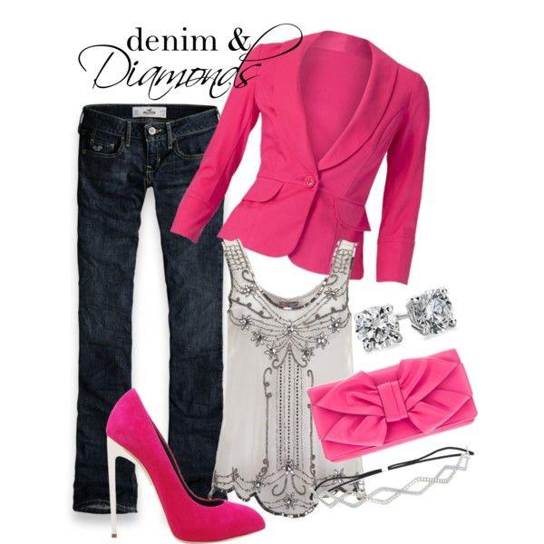 22 best Denim and Diamonds images on Pinterest | Feminine fashion ...