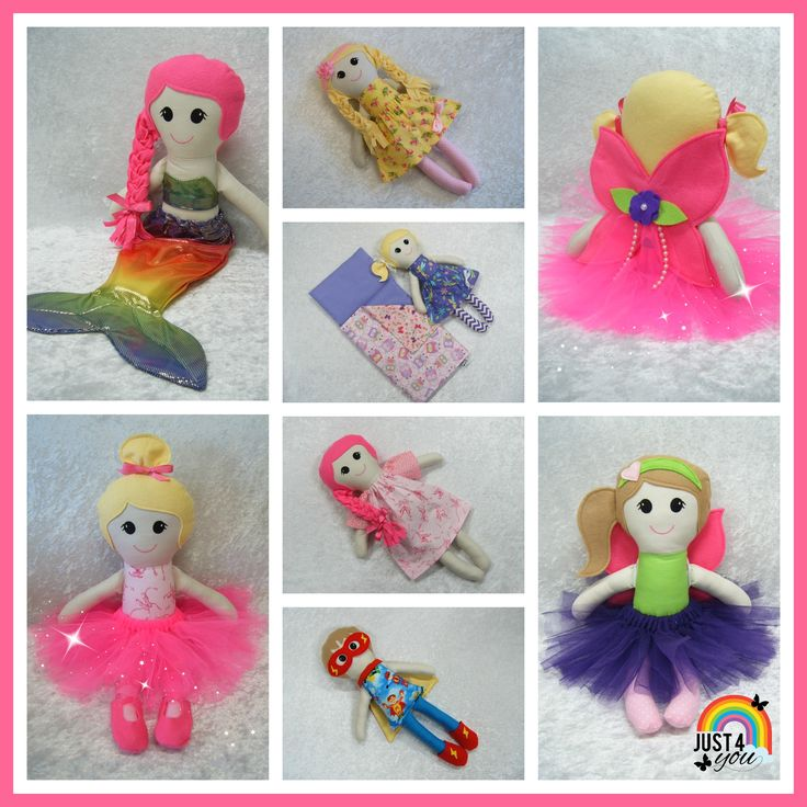 Some of my favourite custom made dolls  :)  Made at Just 4 You.  https://www.facebook.com/Just4YouNZ