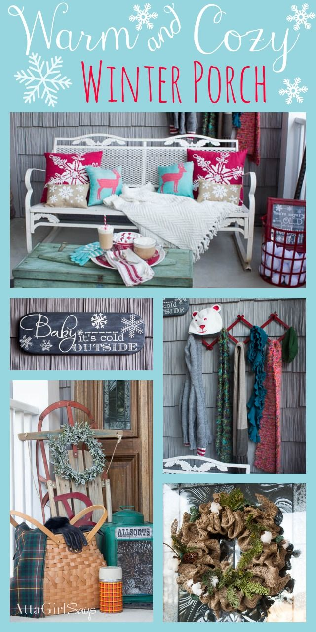 Front porch decorating ideas for winter - Warm And Cozy Winter Decorating Ideas For The Front Porch