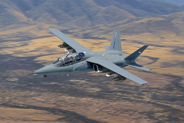 Textron AirLand Scorpion (aka Cessna Scorpion) light attack, surveillance and reconnaissance aircraft