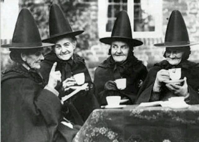 Vintage Witches Vintage Witches Witch's Tea