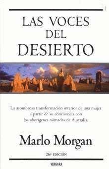 """""""Las voces del desierto"""" de Marlo Morgan."""