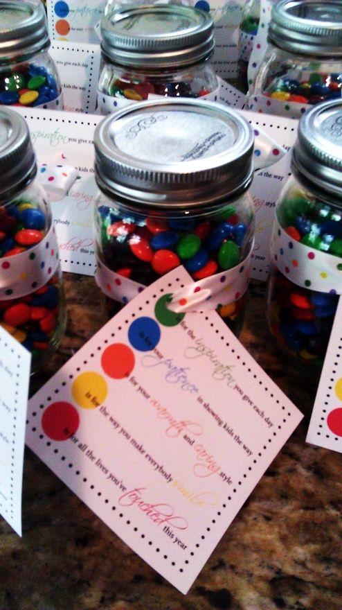 cute idea for a teacher gift/sports coach gift