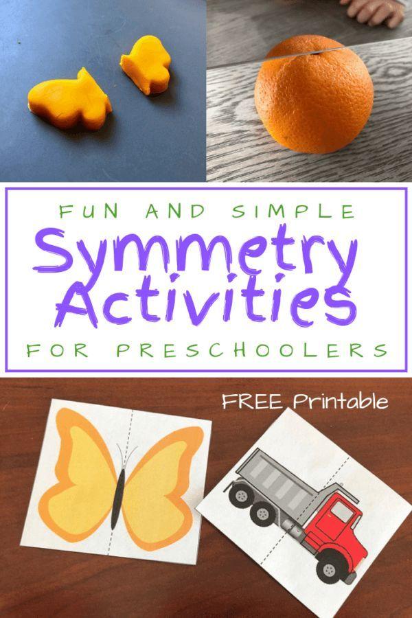Fun and Simple Symmetry Activities for Preschoolers