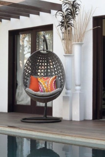 Außergewöhnlich Find This Pin And More On Hängesessel. Modern Hanging Chairs Designs For  Garden ...
