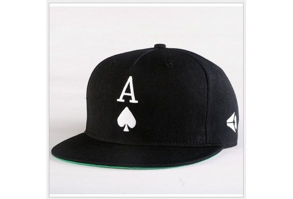 Fashion Embroidery Letter A Unsex Baseball Caps Hip Hop Cap Blak Skateboard Hats Sport Flat Brimmed Hat Cap