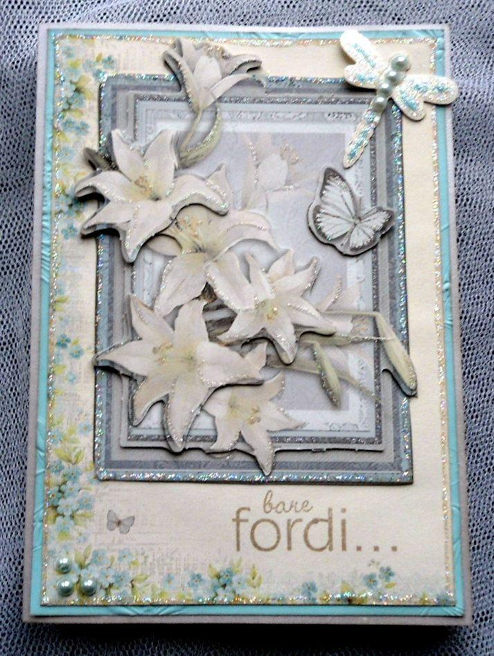 blomsterkort flowercard