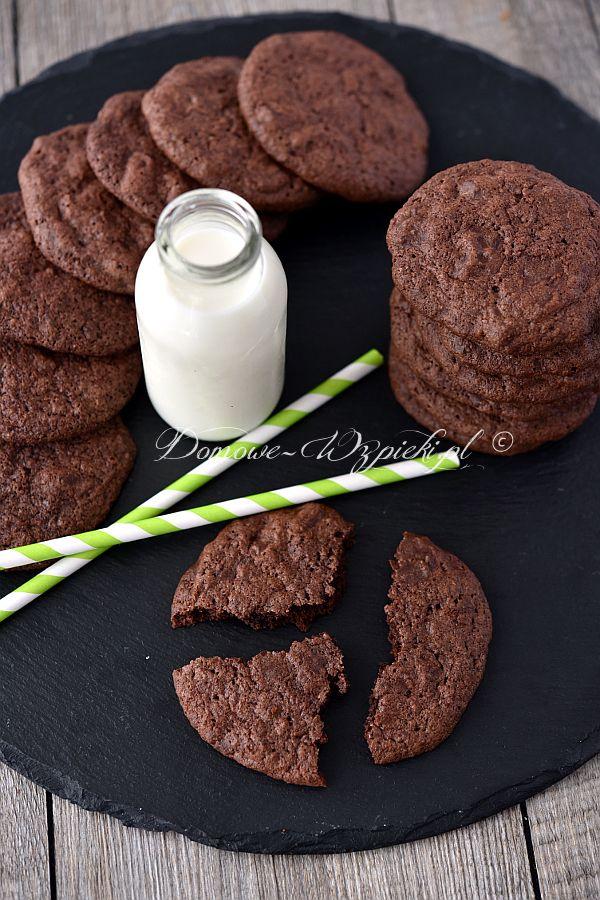 Ciasteczka mocno czekoladowe (bezglutenowe)