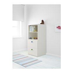 STUVA / FÖLJA Combinação de arrumação, branco - 60x50x128 cm - IKEA
