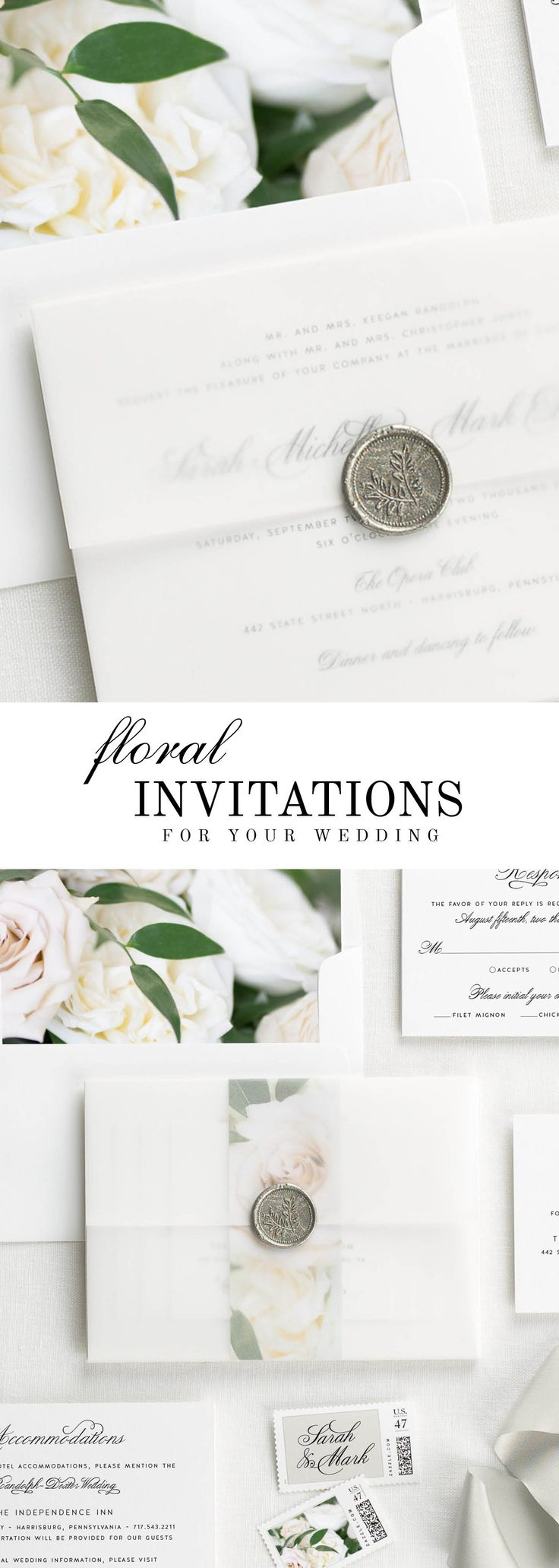 328 Best Wedding Invitations Images On Pinterest Bridal