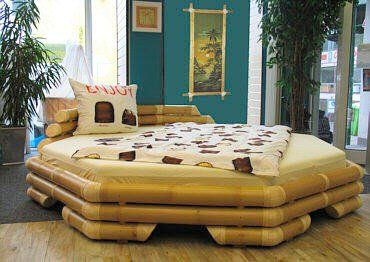Octagon Bamboo bed