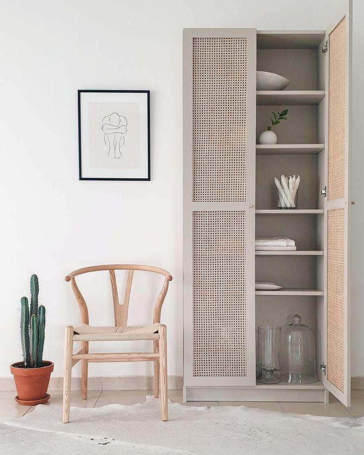 Ikea Billy Hack – Türen mit Geflecht