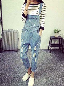 Sale: Women's Clothing | JJLOOK [해외/인기] 빈티지 멜빵 데님 팬츠 http://storefarm.naver.com/jjlook_com/products/752512308