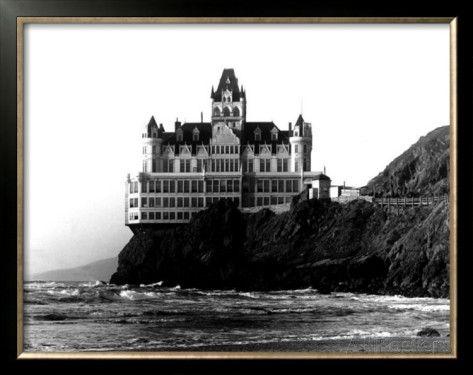 Inside Cliff House San Francisco | San Francisco, Cliff House Hotel Framed Giclee Print