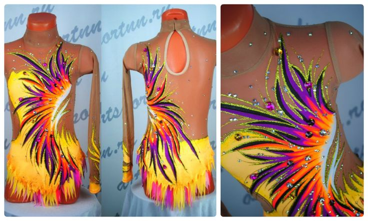 Rhythmic gymnastics leotard by Artsportnn