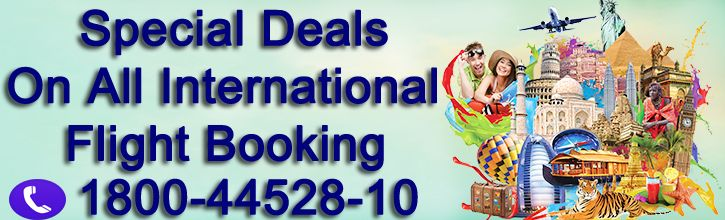 Special Deals on International Flight Booking India to  USA, Canada, Australia & New Zealand. BOOK ONLINE http://uniquetrip.com OR CALL  OUR TRAVEL EXPERT AT - 1800-4452-810.