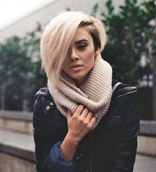 Edgy short pixie is one of the popular short haircuts types. Here we have presented some pictures of edgy short haircuts for you.
