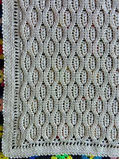 Free crochet pattern for the wheat stitch blanket~k8~