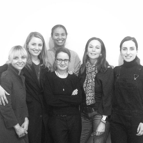 """mashineinc Nora Ephron Prize Team 💥⭐️🎉👏🏽 #ChristinaRicci #DiannaAgron #JoyBryant #DianeLane #ZoeListerJones #tff2017 #tribecafilmfestival #noraephron #noraephronprize feat. @jelenabehrendstudio #pendant """