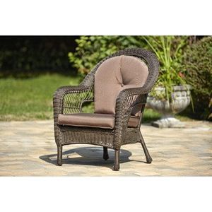 Single Dining Arm Chairs with Cushions (Set of 2)