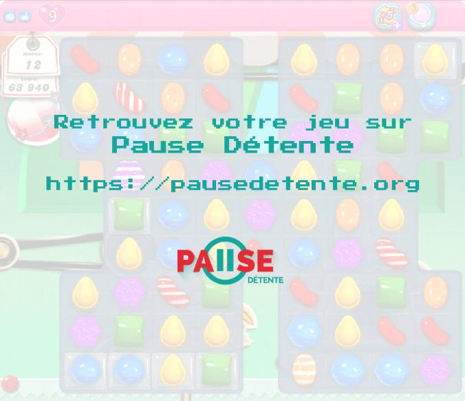 Candy Crush Saga Full Version sur Pause Détente