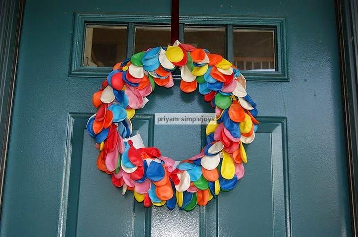 SimpleJoys: Balloon Wreath
