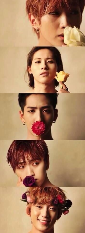 B1A4 everyone looks cool... And then there's the one at the bottom..