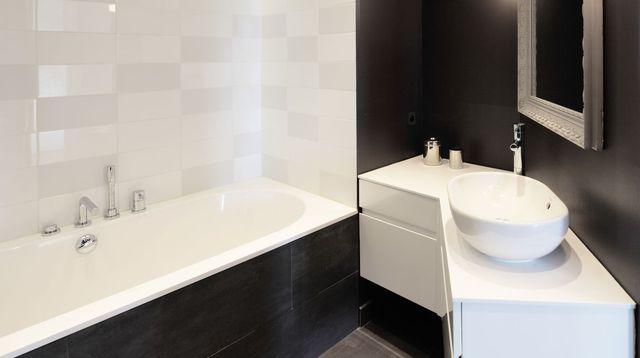 1000 id es sur le th me salle de bains familiale sur for Salle de bain 7 5 m2