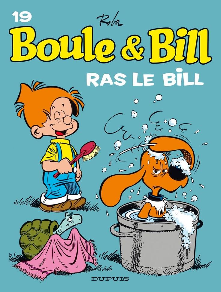 Boule & Bill, crée en 1959 par le dessinateur belge Jean Roba