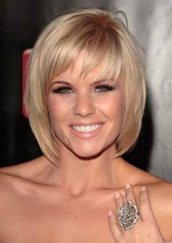Medium Layered Bob Hairstyles with Bangs