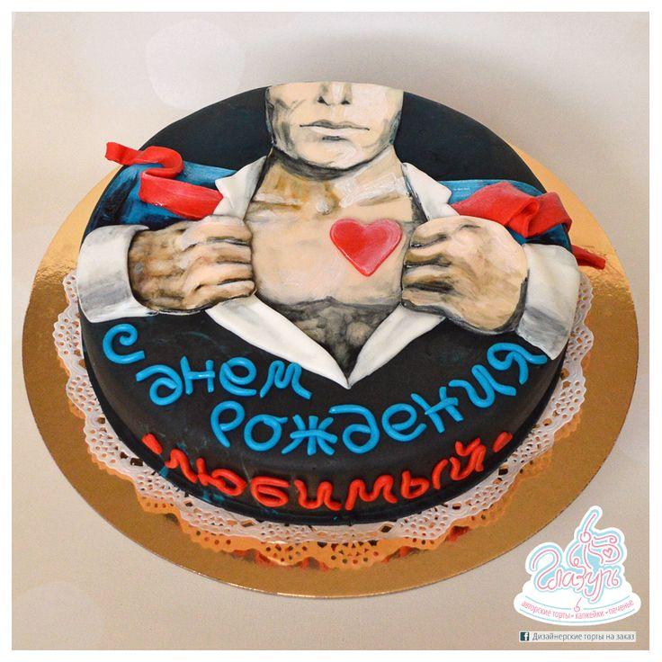 Cake Strong and gentle man https://www.facebook.com/katrin.smirnova.3958