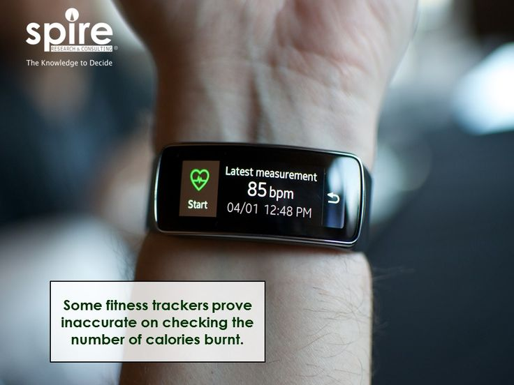 """Some fitness trackers prove inaccurate on checking the number of calories burnt.  """"#Spire #Healthcare #Fitness #Trackers #Calories #Trivia """""""