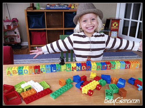 Helps them learn the alphabet! #LEGODUPLOplay